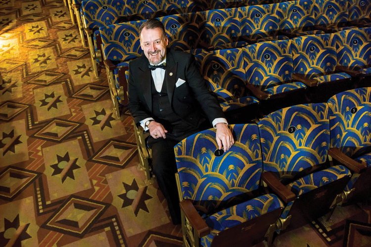 The Plaza's General Manager, Ted Doan -