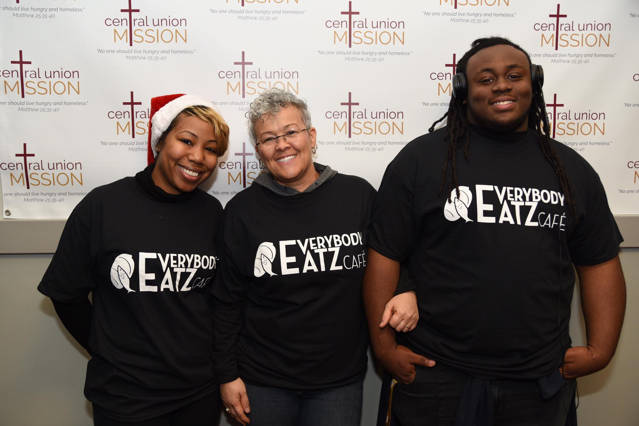 Everybody Eatz Cafe - Partnership with local homeless shelters