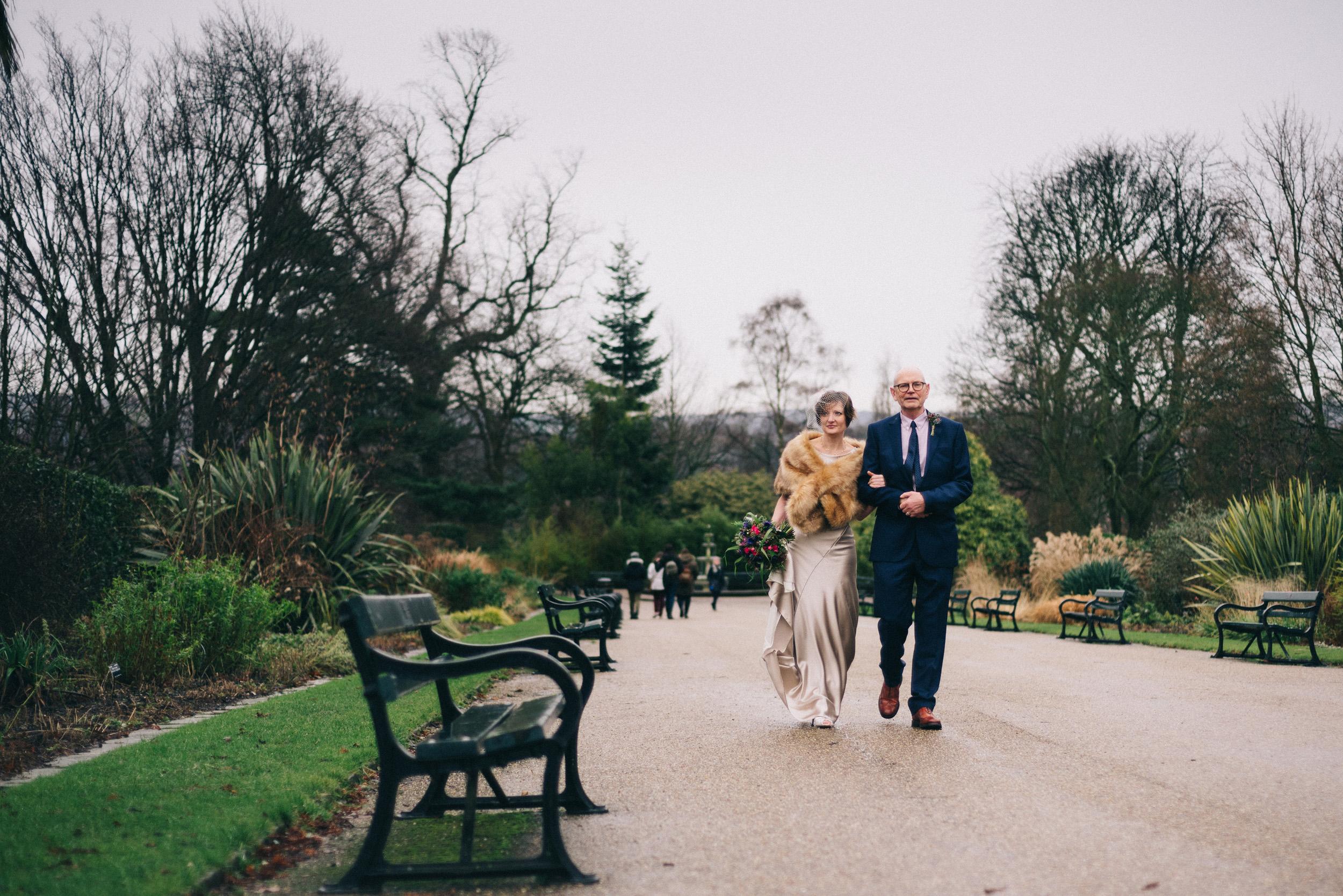 Alice-Bias-Cut-Silk-Wedding-Dress-Kate-Beaumont-Sheffield-Botanical-Gardens-by-Peakography-6.jpg