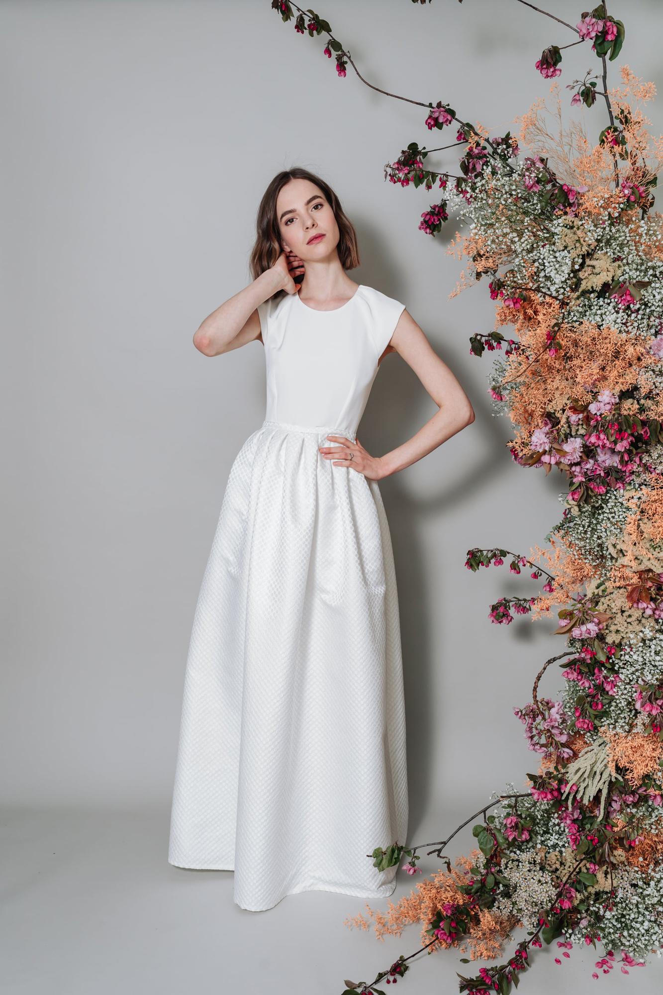 Kate-Beaumont-Sheffield-Zinnia-Modern-Wedding-Gown-Polka-Dot-Pleated-Skirt-2.jpg