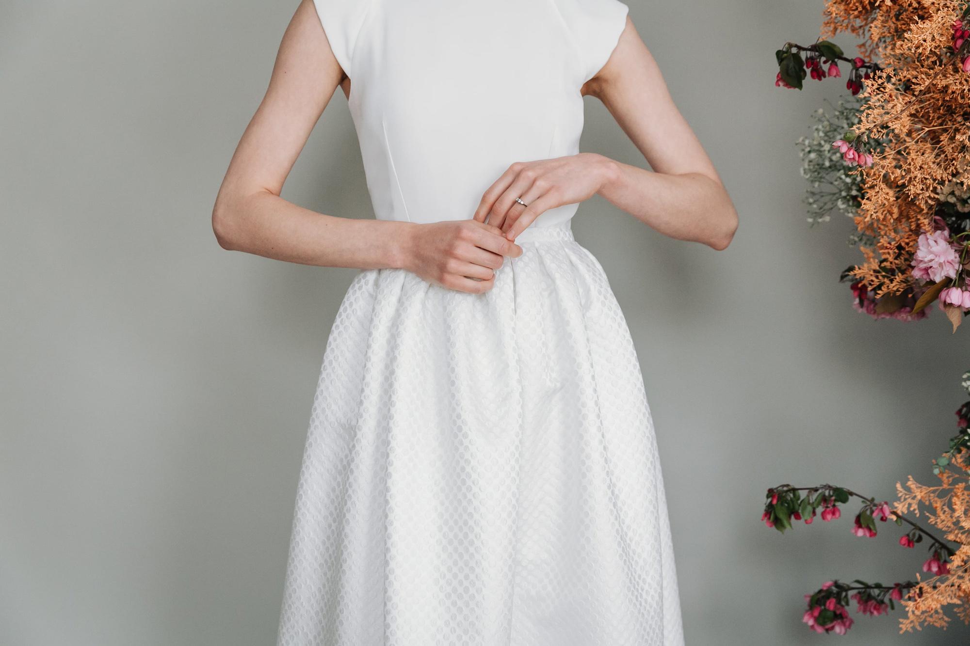 Kate-Beaumont-Sheffield-Zinnia-Modern-Wedding-Gown-Polka-Dot-Pleated-Skirt-5.jpg