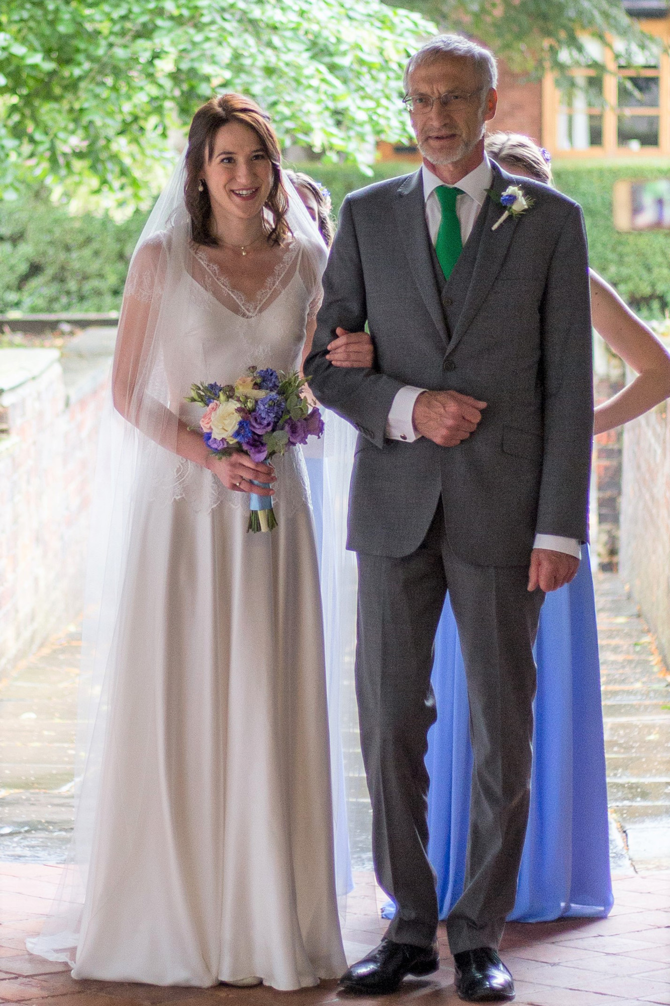 Paula-Lilac-Lace-Top-Bluebell-Flared-Silk-Dress-Church-Barn-Wedding-Kate-Beaumont-Sheffield-12.jpg
