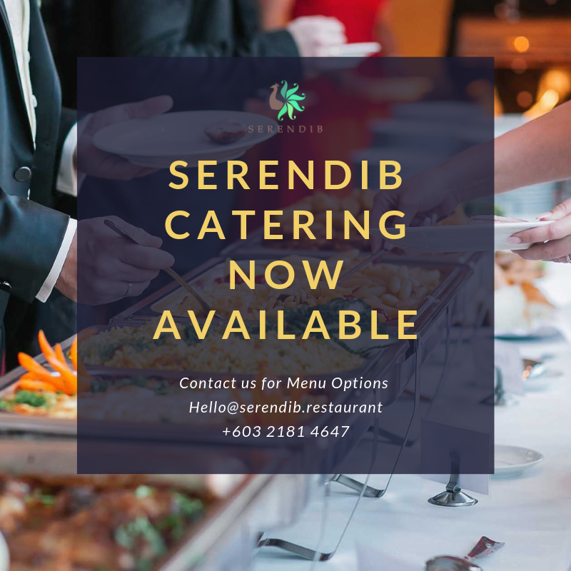Serendib Catering Services - Have your favourite Sri Lankan dishes served at your private function. We cater to your office location or private venue with the service of our friendly staff.Hit the message option below for more information
