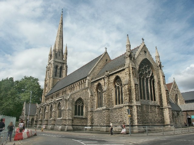 st swithins, lincoln -
