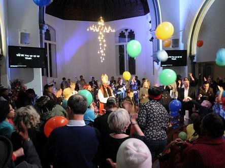 hope church, islington -
