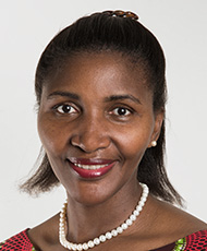 Marie-Christine Nibagwire - Licensed Lay Minister