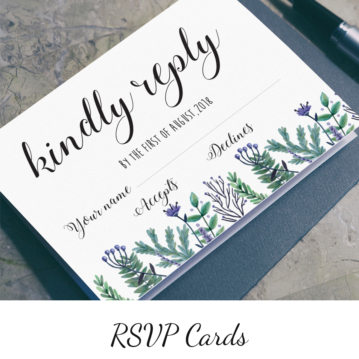 Essential stationery for friends and relatives to respond to your invitation >     P  rices from 48p each