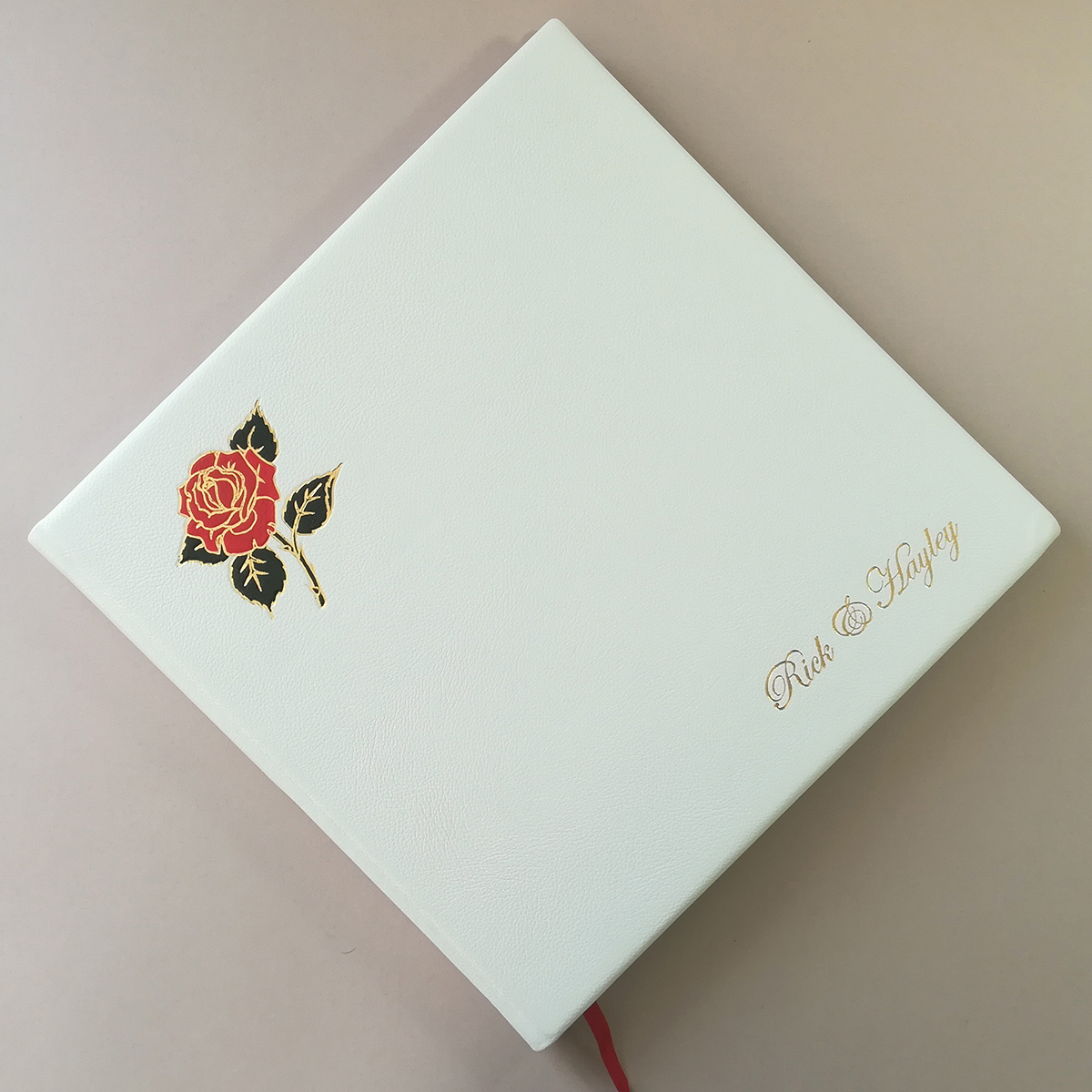 BESPOKE ALBUMS   We have been binding wedding albums for the last 98 years and have provided these for top high street stores and private individuals alike.