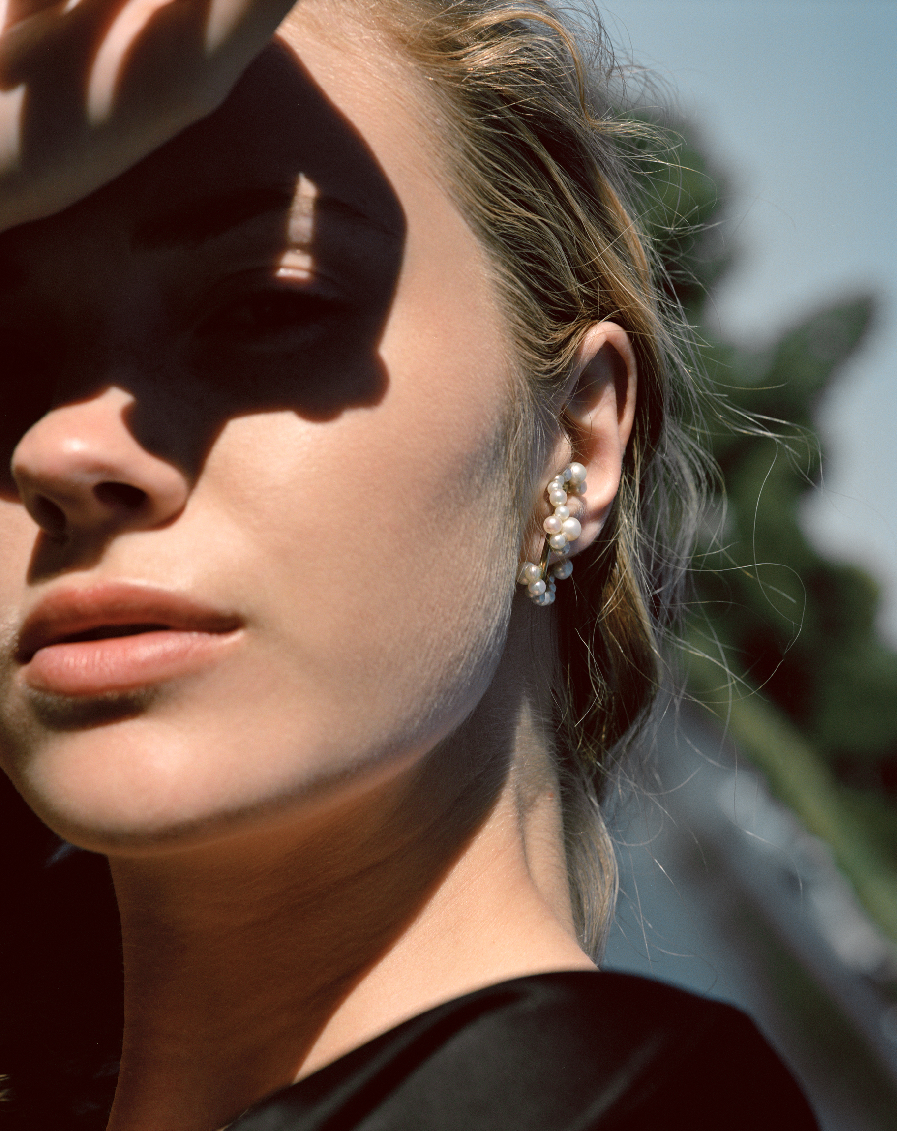 Gale Warning vermeil and pearl ear cuff - £325   More details