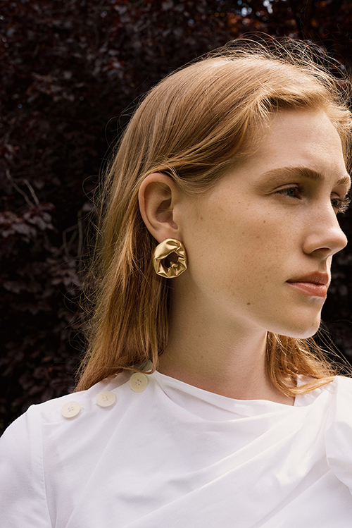 Completedworks earrings - Dialogues with Dumas