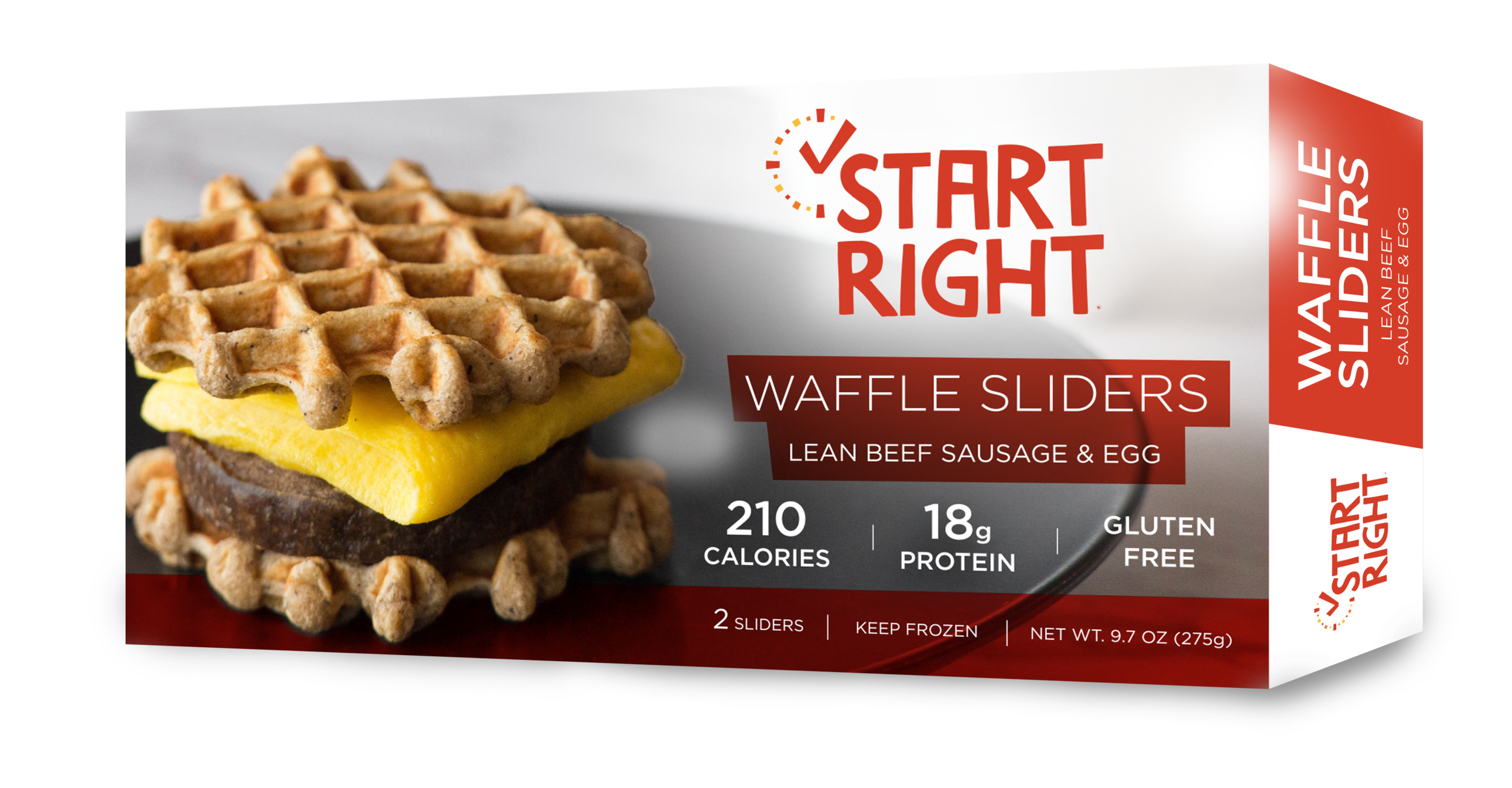 waffle slider, breakfast sandwich, sausage and egg sandwich, high protein breakfast sandwich, breakfast sammie,
