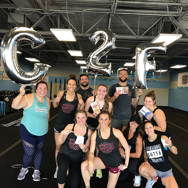 Clint, Kyle and our Ambassador team committed to fitness this morning at @burnbootcampofallonmo. It all started with 10 minutes of Burpees...yes 10 minutes! We all survived, refueled with waffles, and are ready to take any challenge thrown our way! . . . . . #fitness #fitmom #fitlife #refuel #startright #proteinwaffles #teamwork