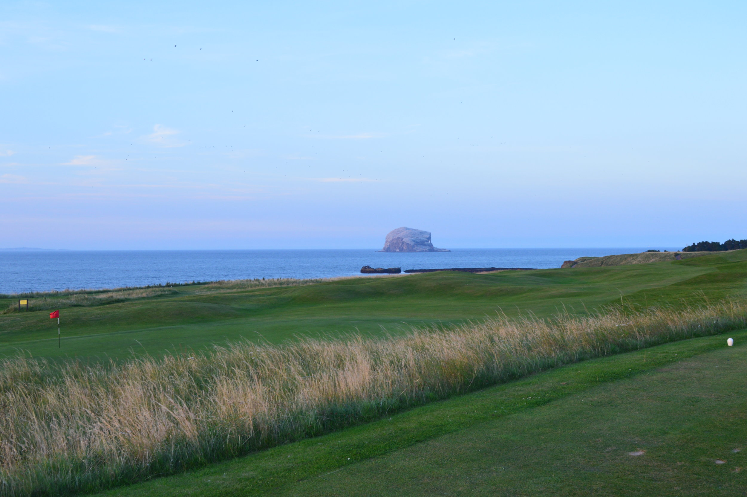 ....across the sea to the Bass Rock