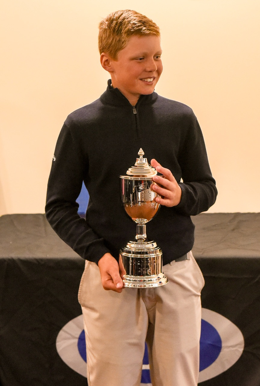 12 Year Old Age Group Winner - Sebastian Desoisa from Gibraltar