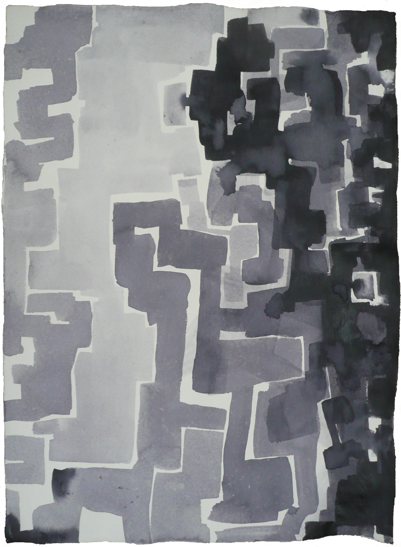 Imagine, Encres sur papier indien, 77 x 56 cm