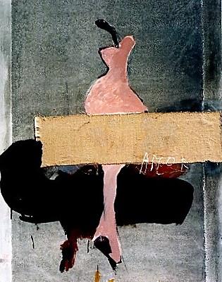 Pomum Amor, 119x 89cm, technique mixte, 1995