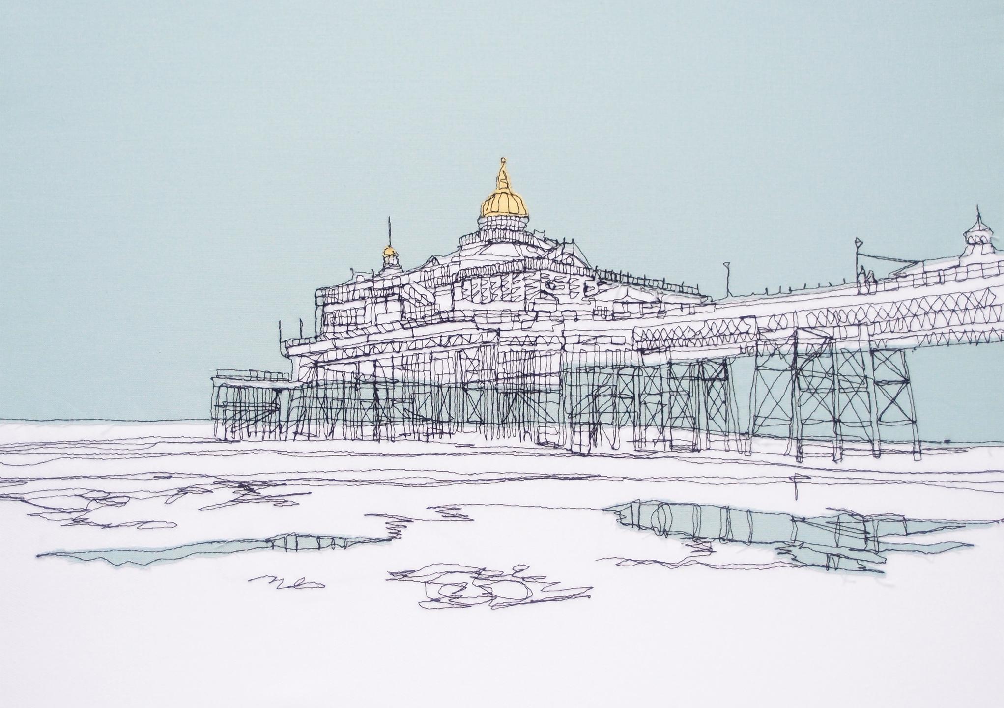 Eastbourne Pier - 20x25 Single Print.jpg