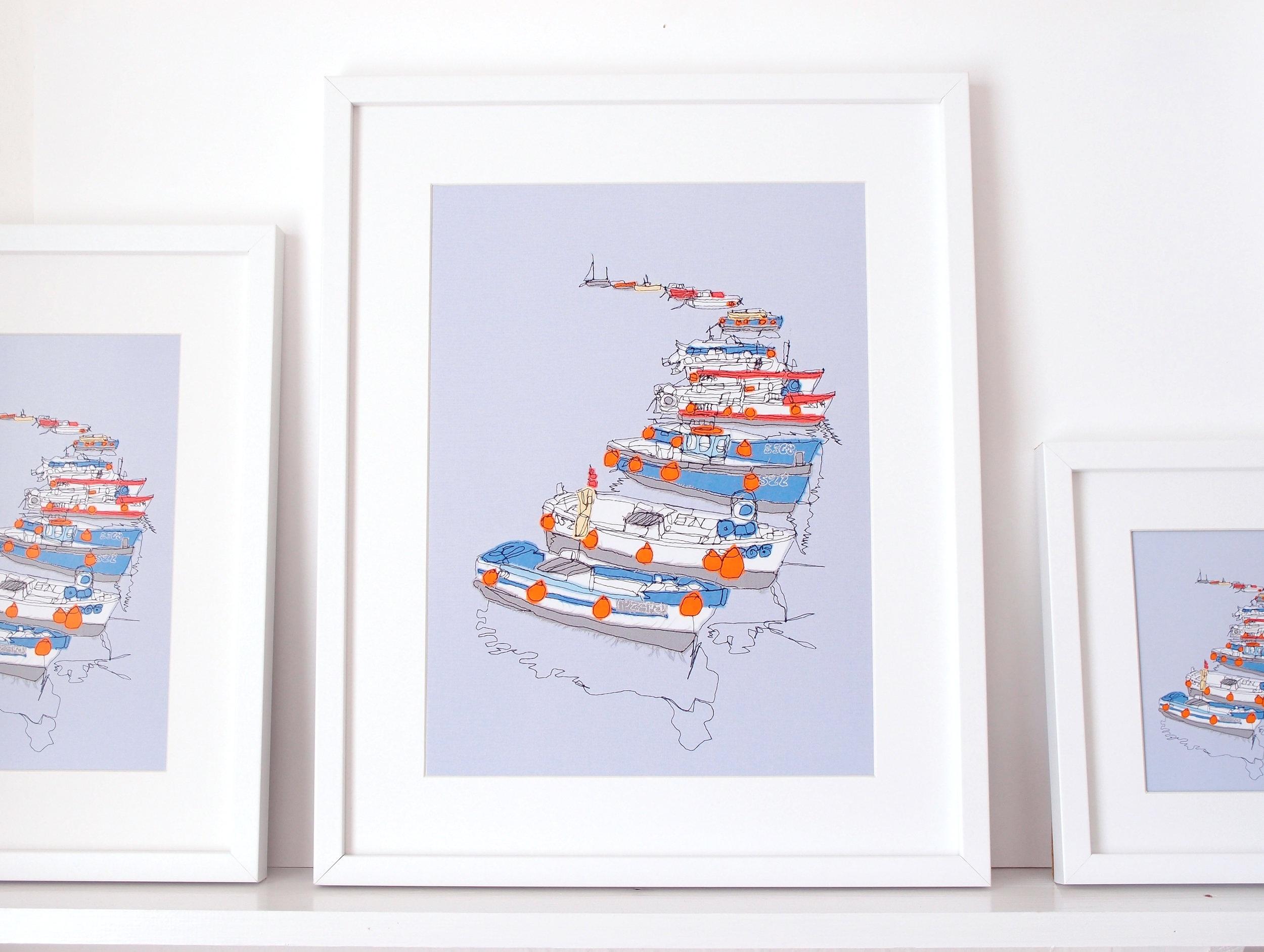 Cornish Boats - 3 Prints.jpg