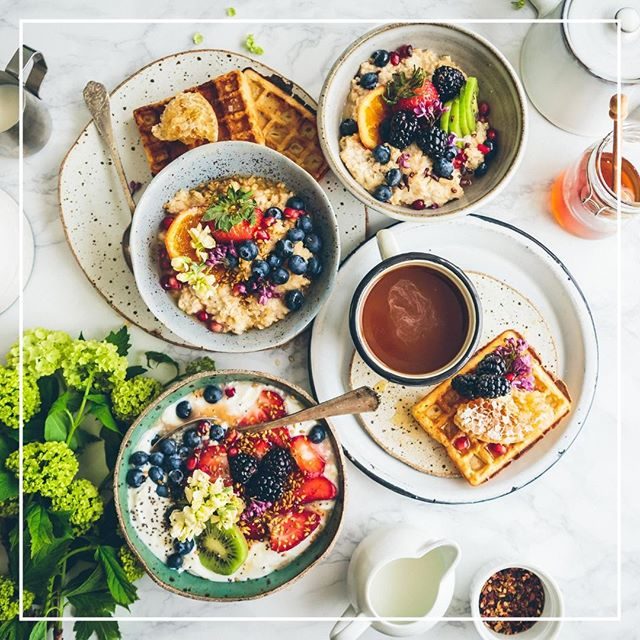 We love breakfast and happy hour - so naturally we love it when we can relax and enjoy a great brunch! And, we think it's the easiest meal to give a little healthy boost to. Just in time for Mother's Day - grab some healthy brunch ideas, recipes and an easy brunch menu at Food Reveal https://www.foodreveal.com/blog/healthy-brunch-menu-recipes-ideas ⁣ .⁣ .⁣ .⁣ .⁣ #plantbasedrecipe⁣ #eattherainbow⁣ #plantsfirst #happymothersday #mothersdaybrunch #brunchtime #thenewhealthy #nourish #eattherainbow #celebratehealthier #eatmoreplants #eatgoodfeelgood  #dietitianapproved #plantpowered