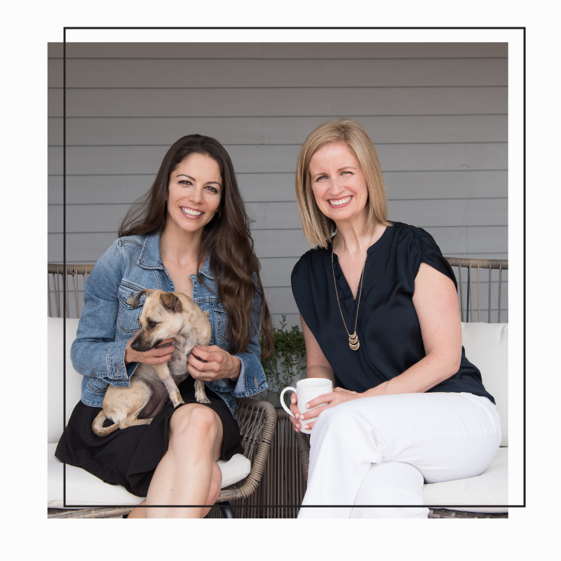 HI! We're lauren + nicole - Two registered dietitians who've spent over a decade helping restaurant chefs and food companies makeover their food and menus. Now, we're bringing those same pro tips, ideas and inspiration to your kitchen.Our mission is to add simple ingredients, flavor, and simplicity back into the daily routine to help you maximize your time in the kitchen, find more joy and stress less about what to eat!