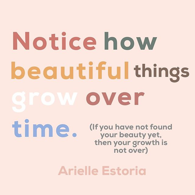 Notice how you are the beautiful thing growing over time. If you haven't found it yet, then my darling you are not done growing ✨ ⠀⠀⠀⠀⠀⠀⠀⠀⠀ #poetsofig #selflove #growth #quotesoftheday #qootd #igquotes #quotesoflife #beauty #supersoulsunday #hellosunshine