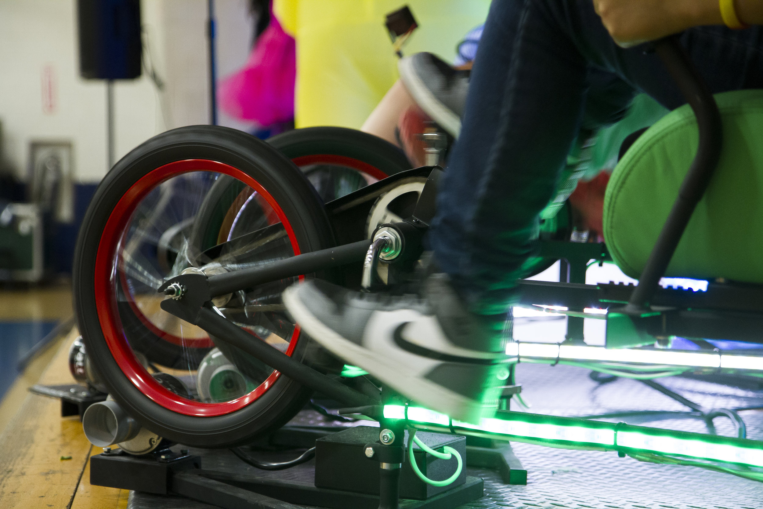"""""""The kids loved the catchy, educational music and were crazy about making clean energy with the cool bike powered system."""" - Pam McVey, Creative Arts and Science Committee, Burr School"""