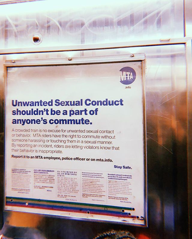 NYC Subway signs.