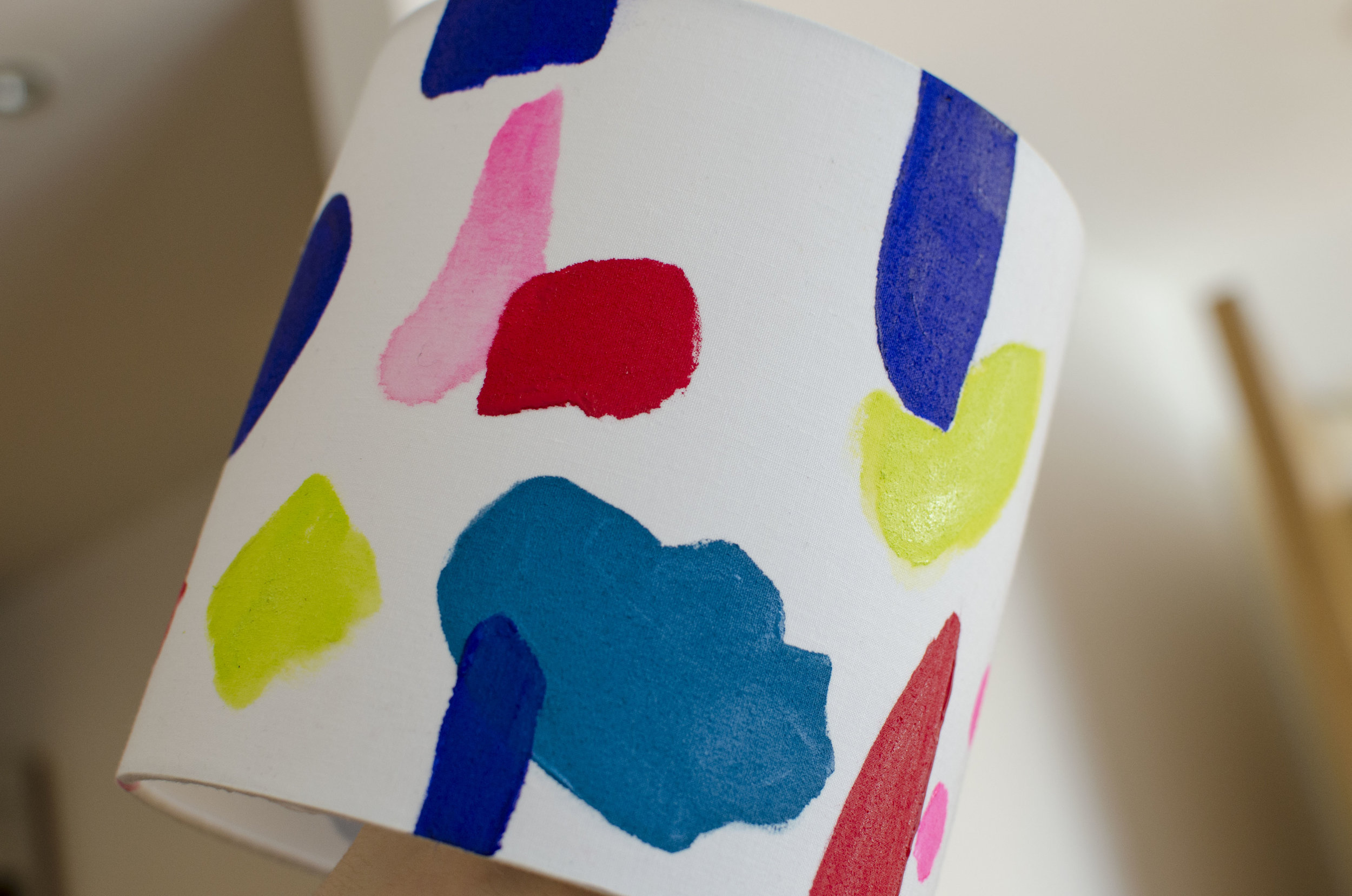Painting lamp shades, Diy lamp shade