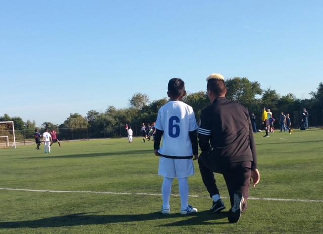 Become a soccer mentor.