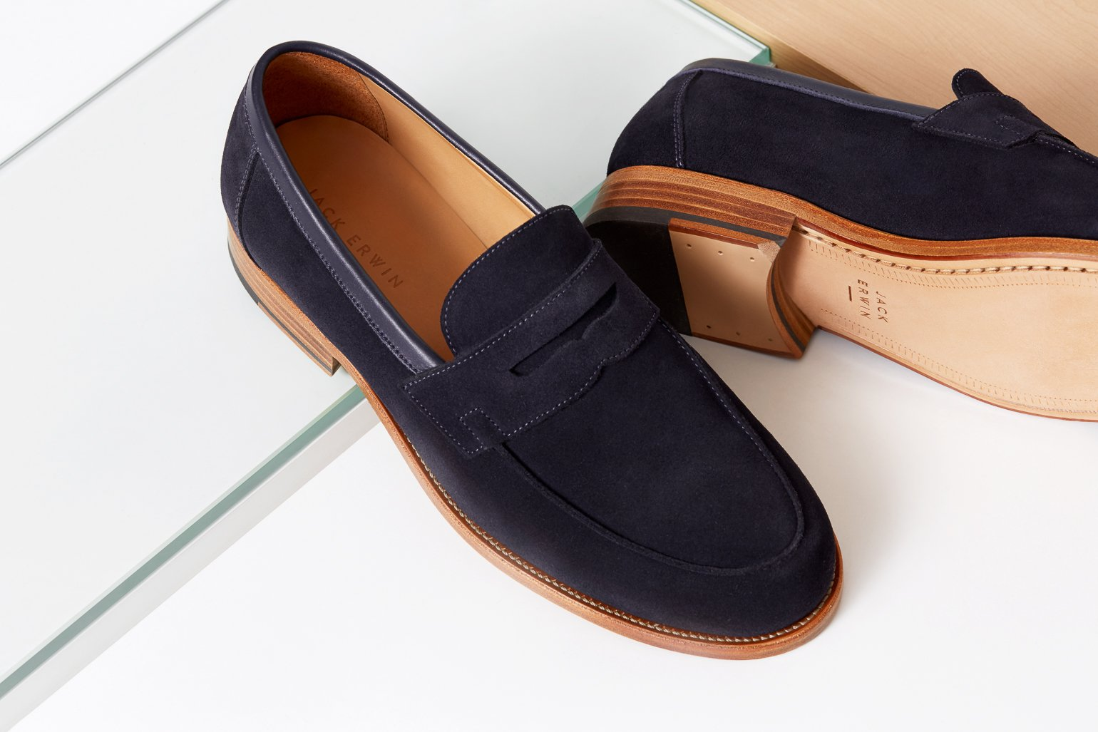 #28 -  Jack Erwin Willy Suede Loafer