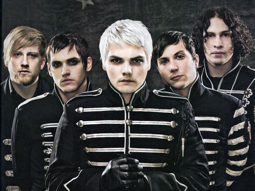 The band in their Black Parade personas  Source: Alt Press