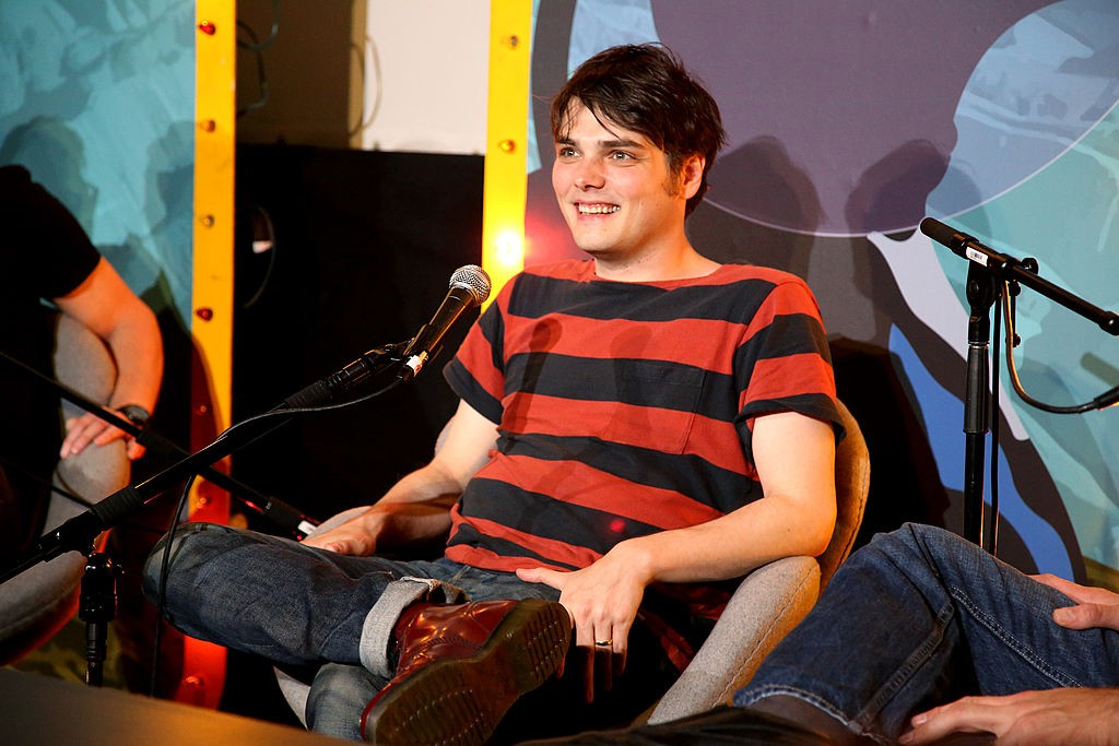 Gerard doing press for Young Animal  Source: Loudwire