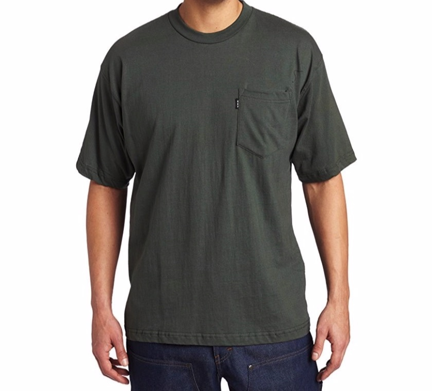 Don't waste your hard earned physique with shirts that fit like this