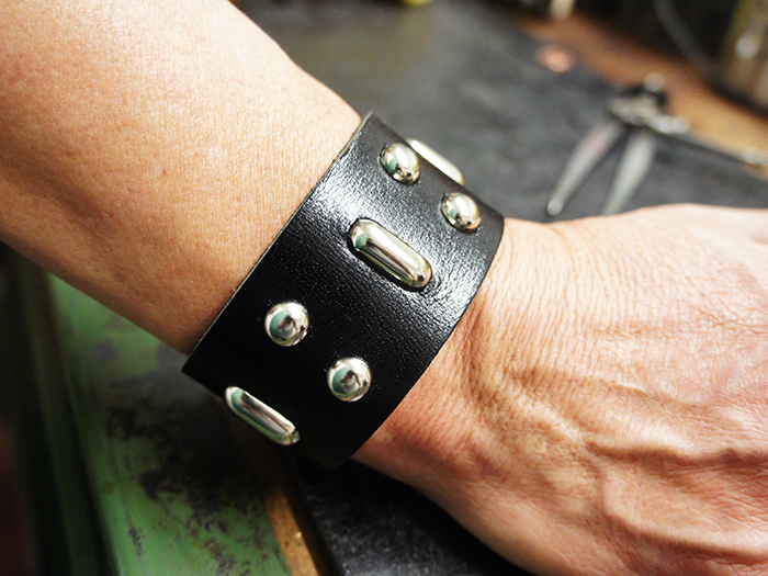 Hunter S. Thompson Leather Cuff  Source: The Urban Wrist