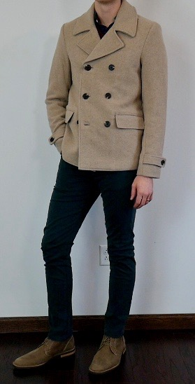 LOVED this peacoat included from Scotch and Soda