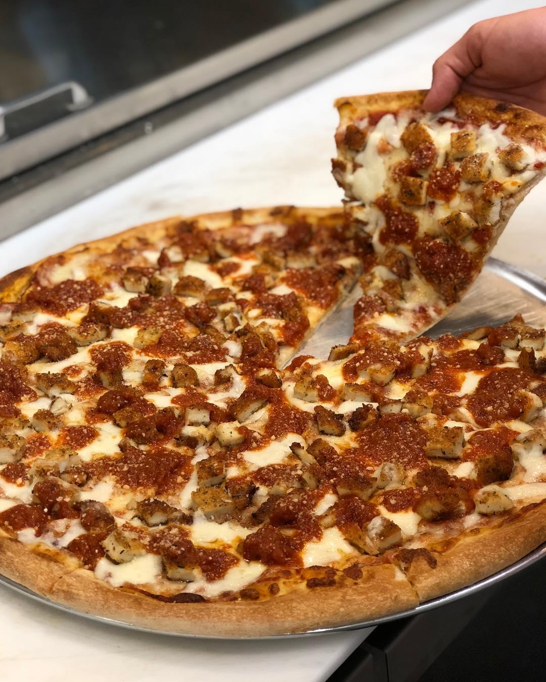 Cutlet Parm Pizza