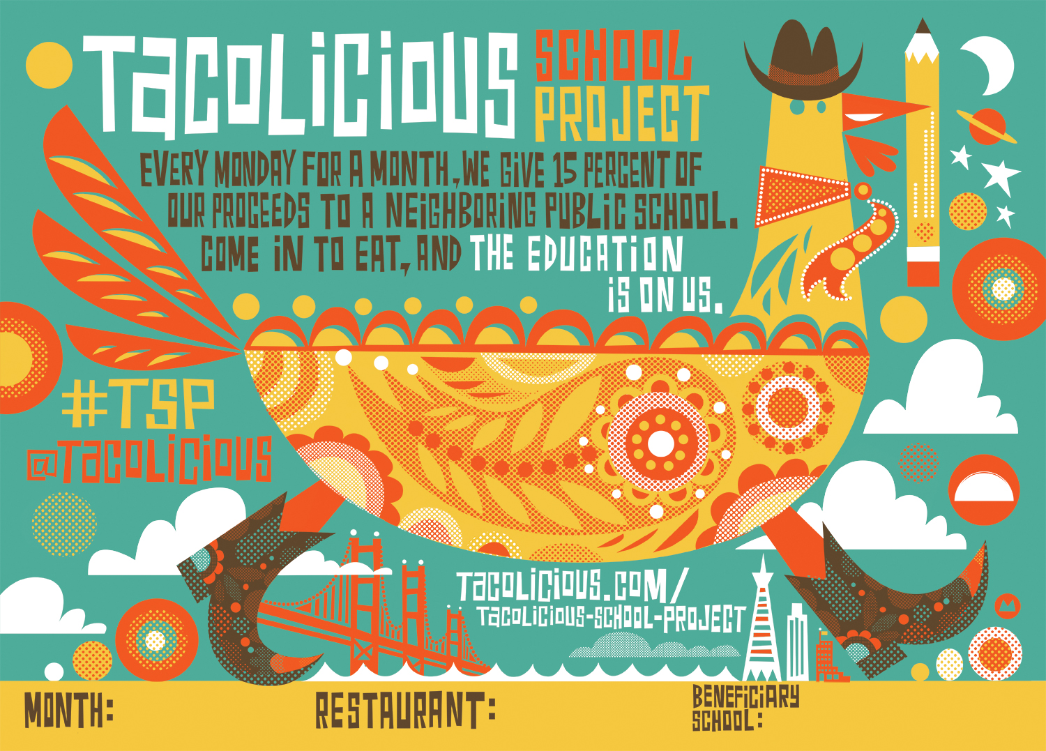 Tacolicious Poster