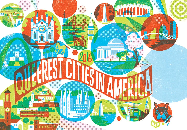 Queerest Cities Spread