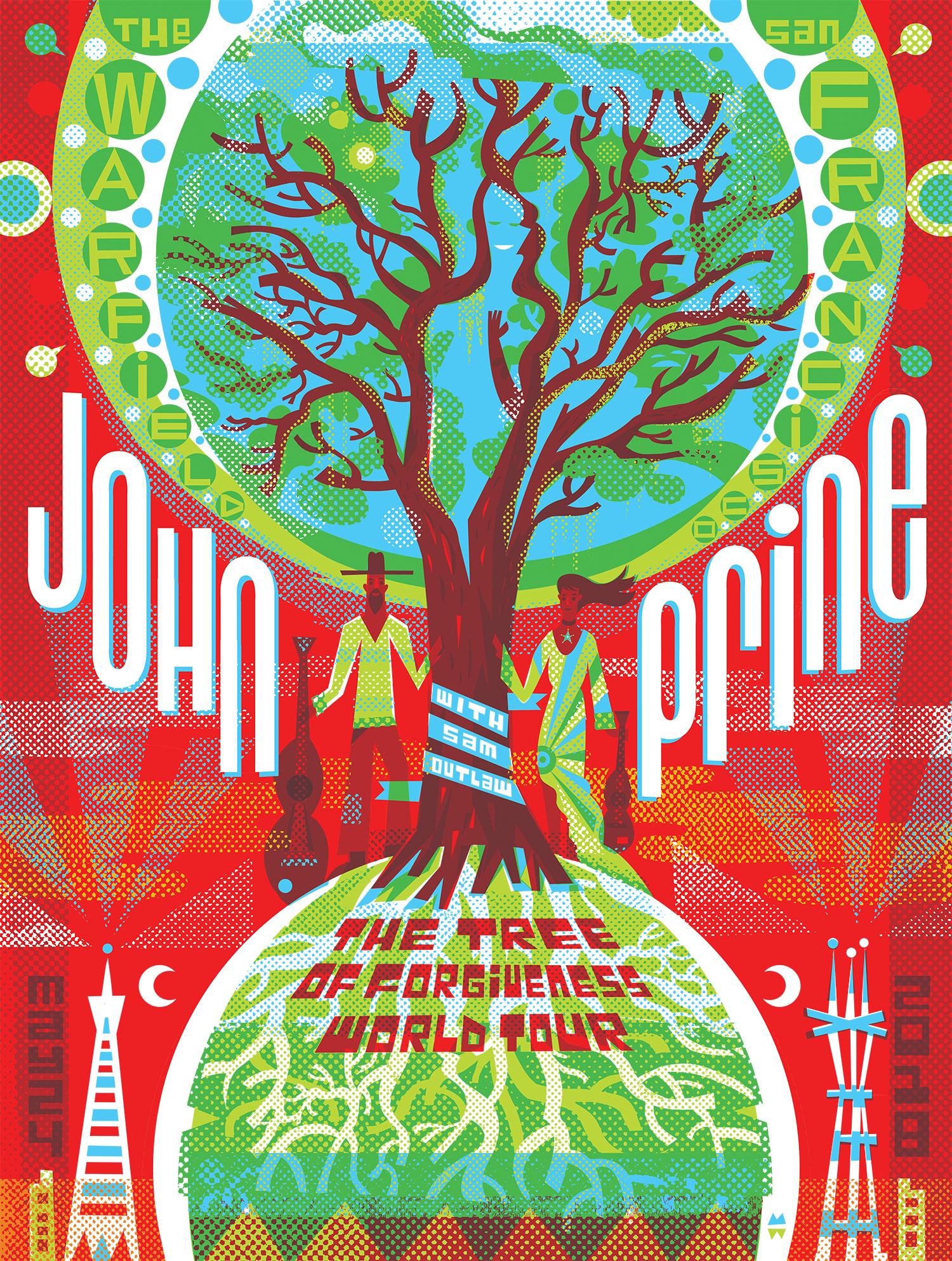 John Prine at the Warfield, San Francisco