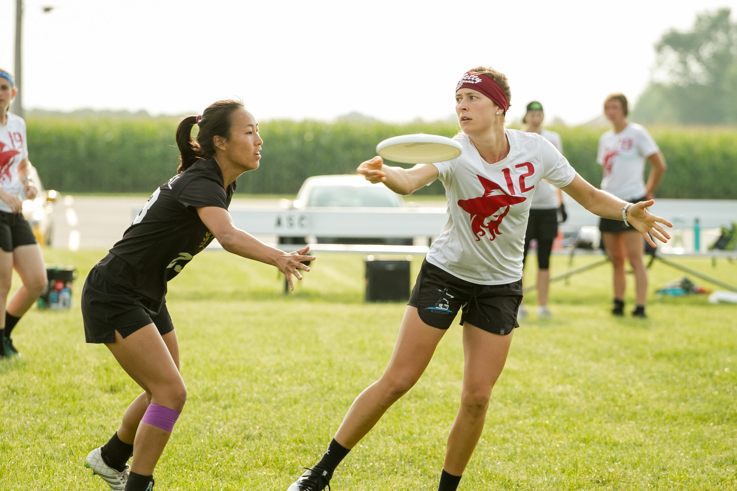 Clare Frantz zings~! a backhand at Elite Select Challenge against Rival on Sunday