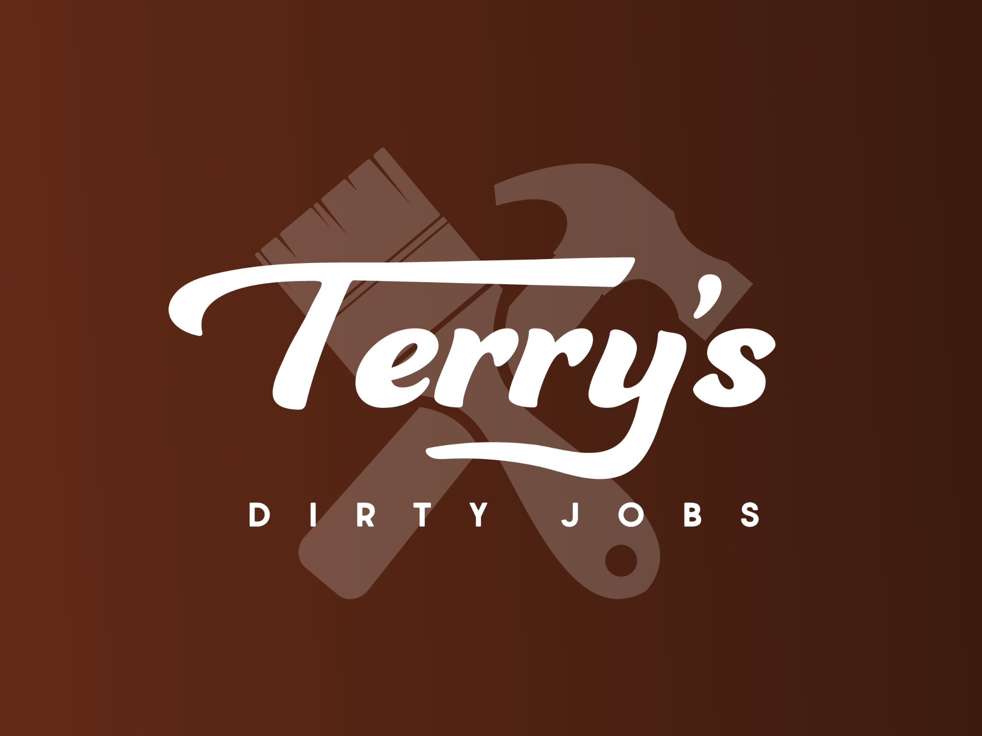 Logo Design Businesd Card Design and Flyer Design for Terry's Dirty Jobs in Lakeland, Florida