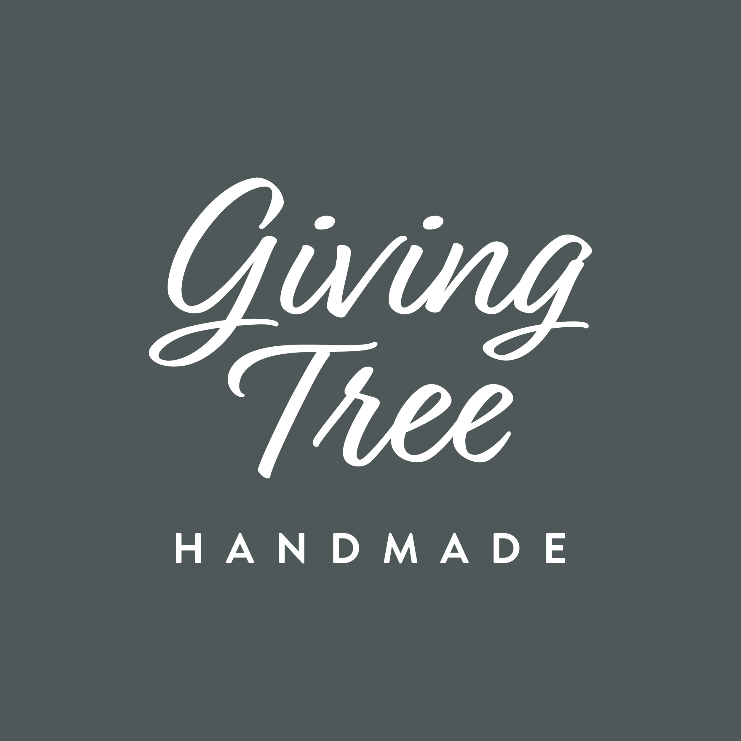 Giving Tree -_Stacked Text Only Logo Green Background.png