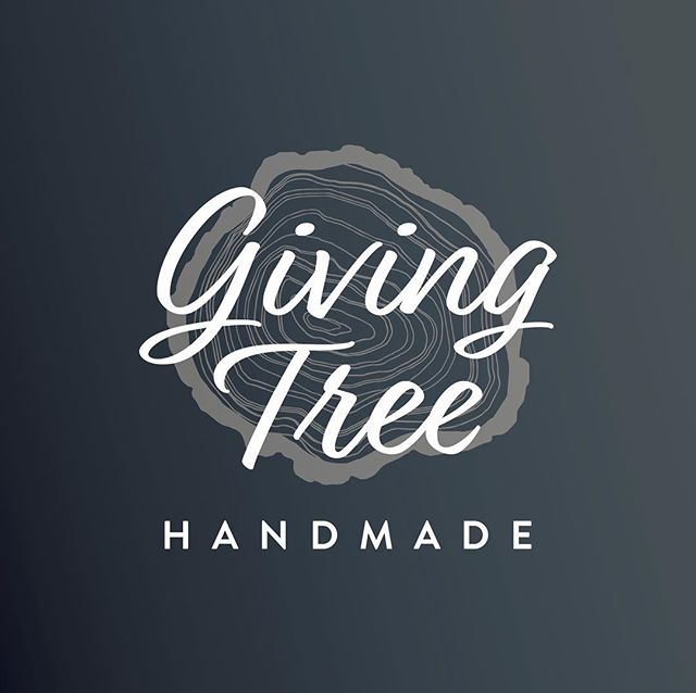 Logo Design and Branding for our contest winner @giving_tree_handmade. ⁣⠀ I loved working with Ashley to create a brand identity for her wood working business, and LOVE all of the beautiful things she makes. ⁣⠀ -⁣⠀ #logodesign #branding #graphicdesign #smallbusiness #localbusiness #handmade #lkld #lakelandfl #graphicdesigner #logo #pattern #pantone #CarrollDesignCo #adobe #adobeillustrator #givingtreehandmade #woodworking #instadesign