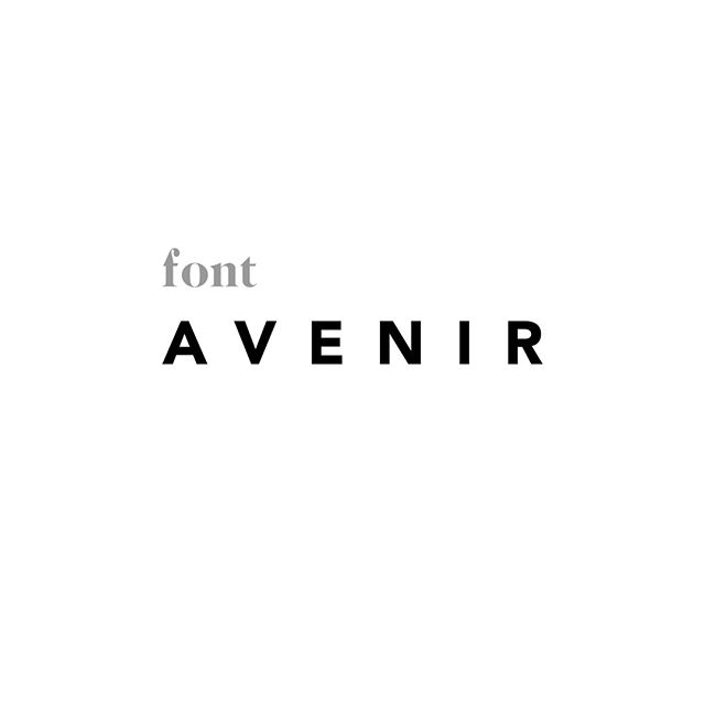 I've always had a great appreciation for fonts. Avenir has been one of my go to's for a couple of years now. It is a very clean and simple font that works well with many different styles. What is your favorite font? ⠀ -⠀ #font #fonts #logodesign #branding #graphicdesign #smallbusiness #localbusiness #handmade #lkld #lakelandfl #graphicdesigner #logo #pattern #pantone #CarrollDesignCo #adobe #adobeillustrator #minimal #minimalist #minimaldesign #cleandesign #simpledesign #classicdesign #branddesign # graphicdesign #branddesigner #visualbranding