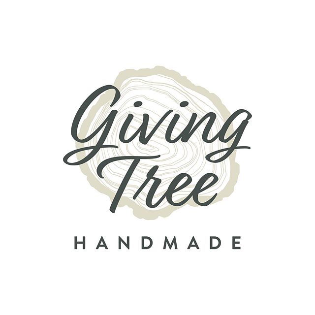 Logo Design & Branding for Giving Tree Handmade ⠀ -⠀ #logodesign #branding #graphicdesign #smallbusiness #localbusiness #handmade #lkld #lakelandfl #graphicdesigner #logo #pattern #pantone #CarrollDesignCo #adobe #adobeillustrator @giving_tree_handmade