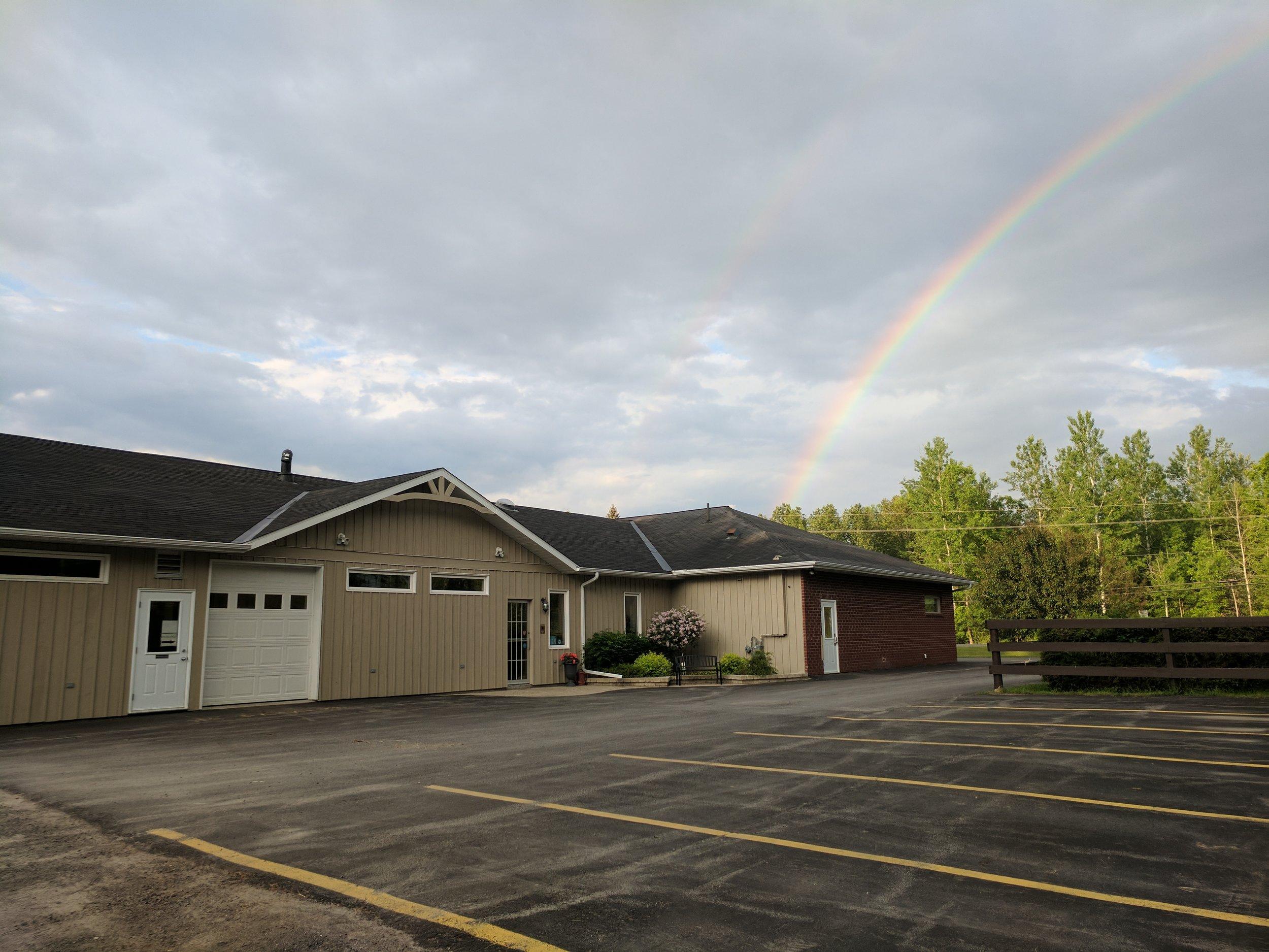 Clinic with rainbow.jpg