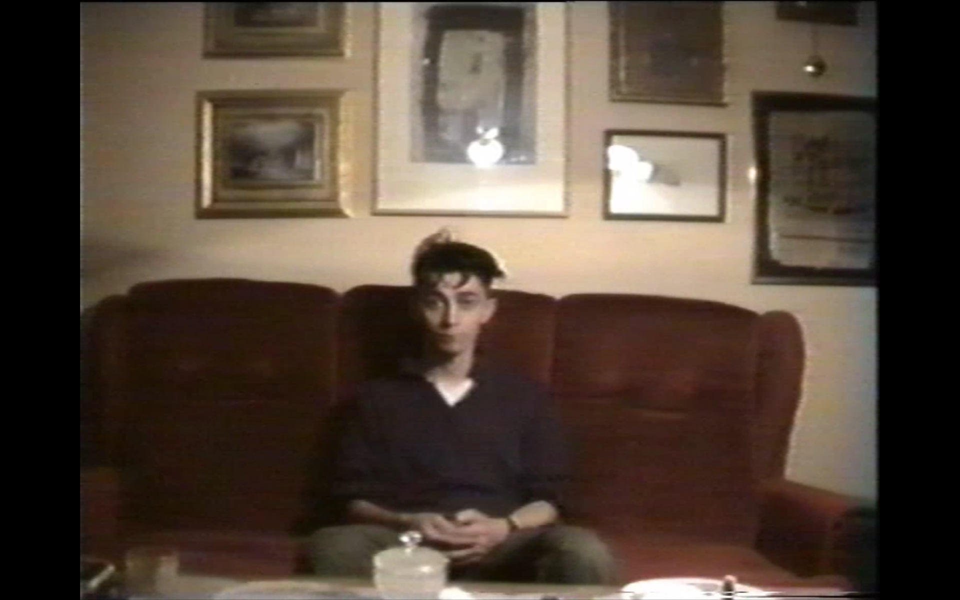 Nihad Kresevljakovic in the video message from Sarajevo 1993