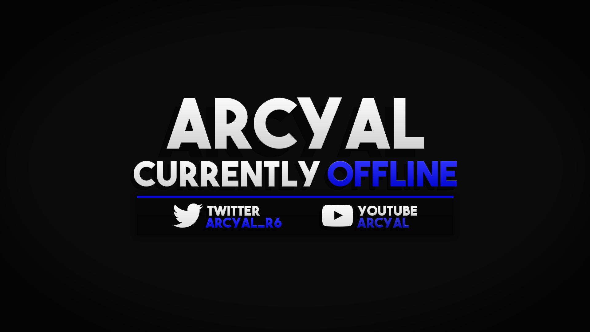 Arcyal Offline Screen.png