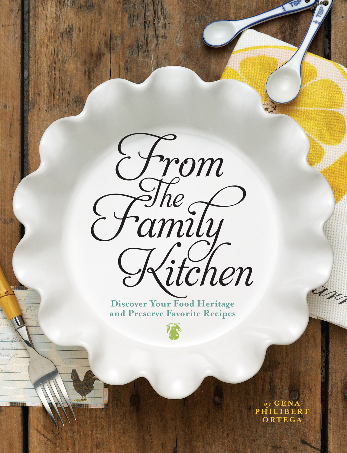 - Celebrate Your Family Recipes and HeritageFrom Great-grandma's apple pie to Mom's secret-recipe stuffing, food is an important ingredient in every family's history. This three-part keepsake recipe journal will help you celebrate your family recipes and record the precious memories those recipes hold for you--whether they're hilarious anecdotes about a disastrous dish or tender reflections about time spent cooking with a loved one.The foods we eat tell us so much about who we are, where we live and the era we live in. The same is true for the foods our ancestors ate. This book will show you how to uncover historical recipes and food traditions, offering insight into your ancestors' everyday lives and clues to your genealogy. Inside you'll find:Methods for gathering family recipesInterview questions to help loved ones record their food memoriesPlaces to search for historical recipesAn explanation of how immigrants influenced the American dietA look at how technology changed the way people eatA glossary of historical cooking termsModern equivalents to historical units of measureActual recipes from late nineteenth- and early twentieth-century cookbooks