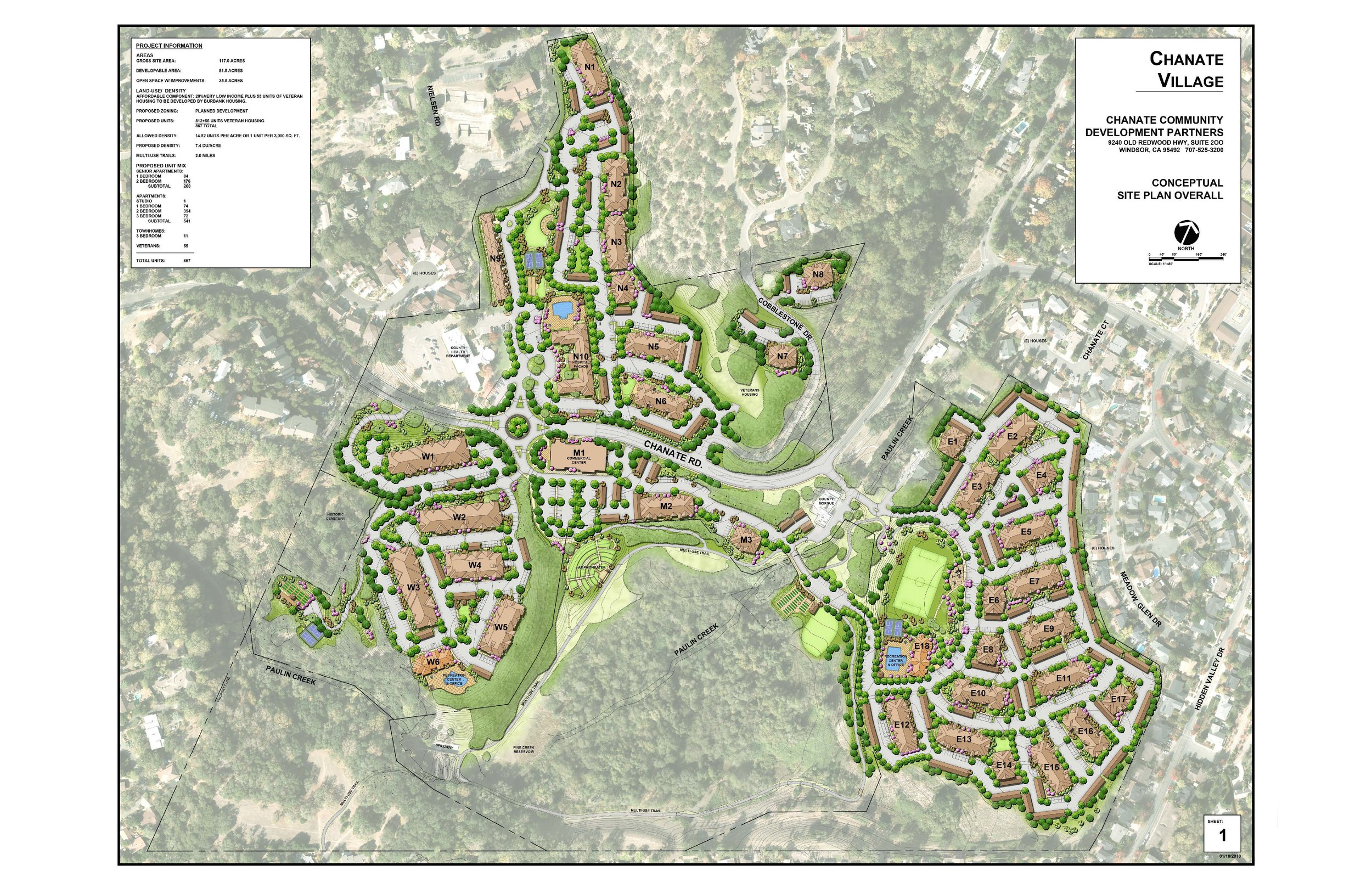 This is the conceptual design that the developer submitted when he met with the City of Santa Rosa at the pre-application meeting.